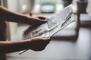 utilize your local newspaper to spread the word about your business